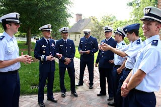 USCG AUP at The College of William and Mary, graduation 2012