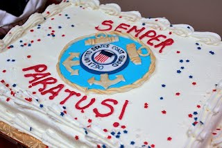 Semper Paratus cake - The College of William and Mary